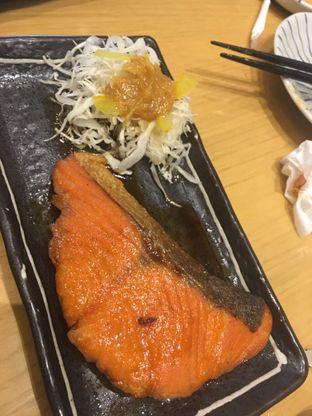 Foto 4 - Makanan(Salmon Teriyaki) di Sushi Hiro oleh didiesfoodies