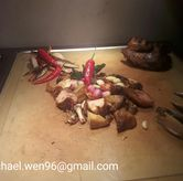 Foto Ayam cabai hijaunya. di Cafe One - Wyndham Casablanca Jakarta