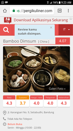 Foto - Makanan di Bamboo Dimsum oleh Inge Thema