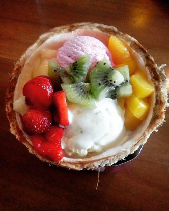 Foto Makanan di Mangkok Manis