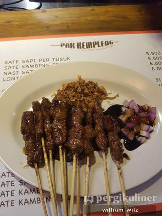 Foto Makanan di Sate Sapi Pak Kempleng