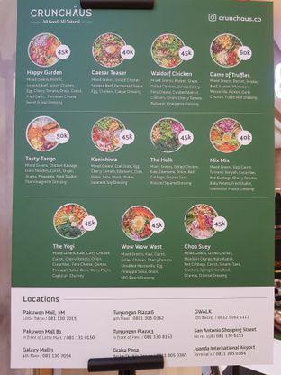 Foto 2 - Menu di Crunchaus Salads oleh denise elysia