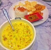 Foto Medanese soto with rice di Garage Cafe