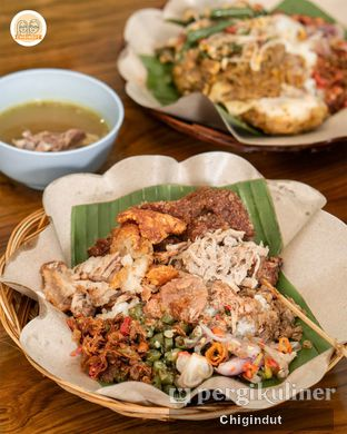 Foto 1 - Makanan(Nasi Bigul Campur) di Depot Jepun Bali oleh Chigindut Youtuber