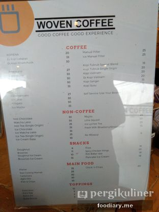 Foto 4 - Menu di Woven Coffee oleh @foodiaryme | Khey & Farhan