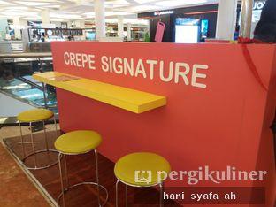 Foto review Crepe Signature oleh Hani Syafa'ah 2