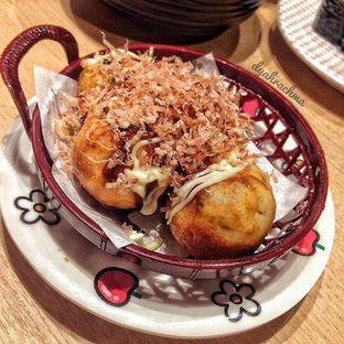 Foto 1 - Makanan(Takoyaki with Mentai) di Genki Sushi oleh Dyah Arumawar Rachma