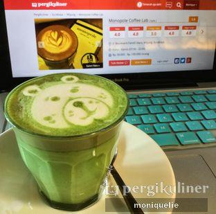 Foto 2 - Makanan(Greentea Latte) di Monopole Coffee Lab oleh Monique @mooniquelie @foodinsnap
