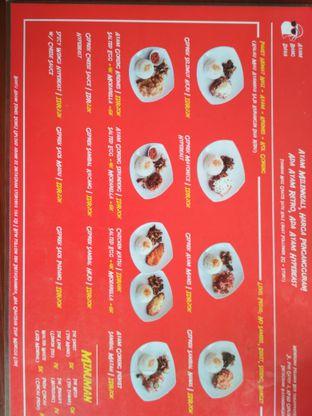Foto 5 - Menu di Ayam Bang Dava oleh Tristo