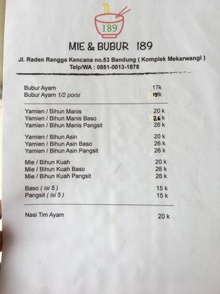 Foto review Mie & Bubur 189 oleh Mariane  Felicia 5