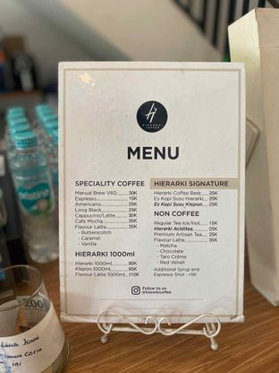 Foto 17 - Menu di Hierarki Coffee oleh Levina JV (IG : @levina_eat & @levinajv)