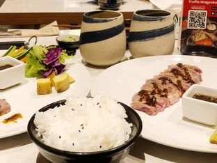 Foto 1 - Makanan(Beef Steak Kura Sauce) di Kura Sushi oleh Metha Loviana