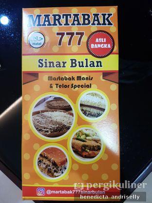 Foto 1 - Makanan di Martabak 777 Sinar Bulan oleh ig: @andriselly
