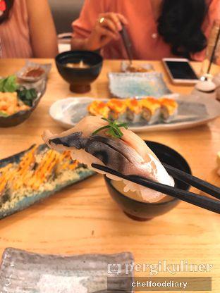 Foto 3 - Makanan(Saba Sushi) di Sushi Hiro oleh Rachel Tobing