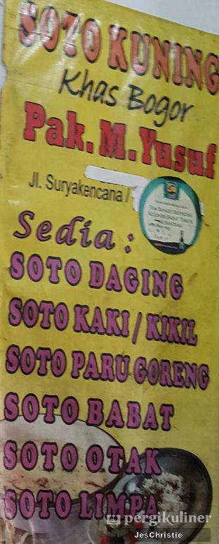 Foto review Soto Kuning Bogor Pak M. Yusuf oleh JC Wen 7
