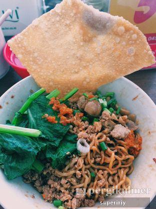 Foto 1 - Makanan(yamie ayam jamur) di Mie Pinangsia oleh @supeririy
