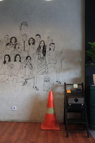 Foto Interior di Backyard Coffee & Shop