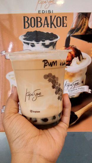 Foto - Makanan(es kopi rum + boba) di Kopi Soe oleh Komentator Isenk