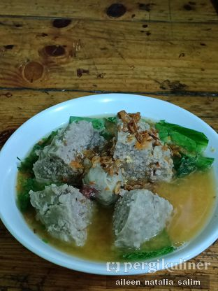 Foto 1 - Makanan di Bakso Bomber Mercon oleh @NonikJajan