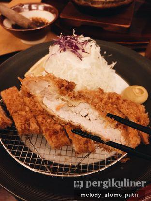 Foto 1 - Makanan(Pork Sirloin Katsu Set) di Katsutoku oleh Melody Utomo Putri