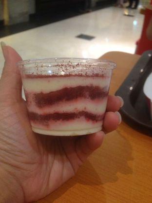 Foto 3 - Makanan(Red Velvet Cake) di Pepper Lunch Express oleh Komentator Isenk