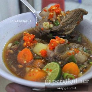 Foto review Sop Sapi Gosyen oleh @siapgendut  1