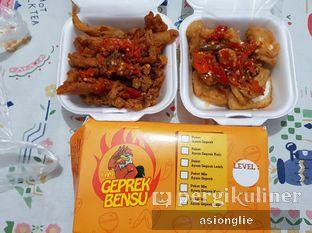 Foto review I Am Geprek Bensu oleh Asiong Lie @makanajadah 2