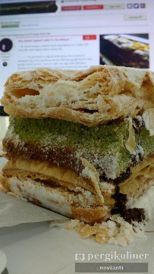 Foto 4 - Makanan(Choco Greentea) di Surabaya Snow Cake oleh Ika Novianti @ika.yap