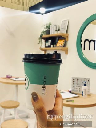 Foto 2 - Makanan(hot gula aren latte) di Titik Koma Coffee oleh Sienna Paramitha