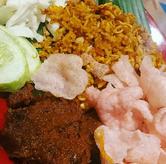 Foto nasi goreng rendang di Marco Padang Grill