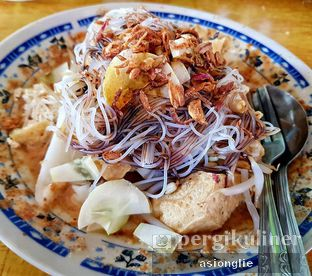 Foto 1 - Makanan di Ketoprak Kota Udang Cirebon Mas Kas oleh Asiong Lie @makanajadah