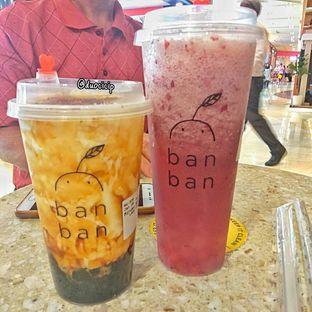 Foto 2 - Makanan(Miruku Boba and Beri Beri Chizu) di Ban Ban oleh duocicip