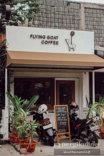 Foto Eksterior di Flying Goat Coffee