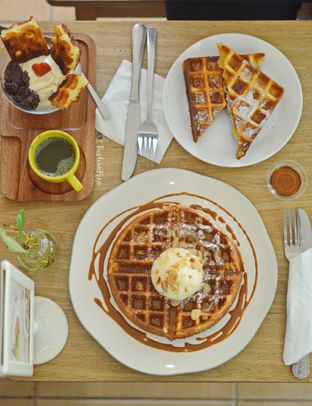 Foto review BROWNFOX Waffle & Coffee oleh Lastia @tasteintrip 3