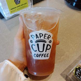 Foto 2 - Makanan(Lychee tea) di Papercup Coffee oleh Fensi Safan