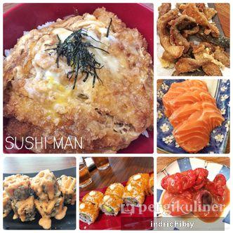 Foto Makanan di Sushi Man