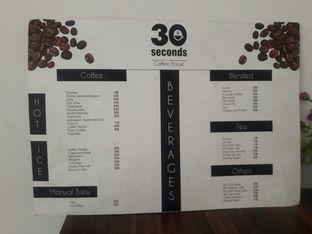Foto 2 - Menu di 30 Seconds Coffee House oleh Muyas Muyas