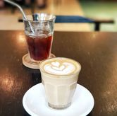 Foto Latte and Ice brewed coffee di 1/15 One Fifteenth Coffee