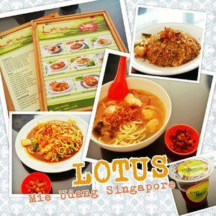 Foto 1 - Makanan di Lotus - Mie Udang Singapore oleh Fendy Heryanto