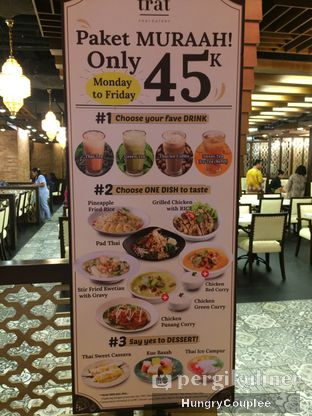 Foto 3 - Interior di Trat Thai Eatery oleh Hungry Couplee