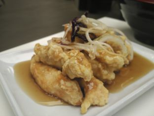 Foto 2 - Makanan(Tangsuyuk) di Kyodong Noodle oleh D L