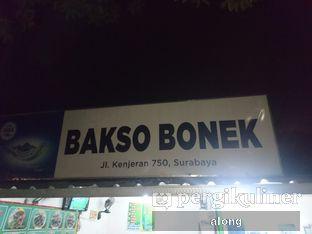 Foto 1 - Eksterior(Papan Nama) di Bakso Bonek oleh #alongnyampah