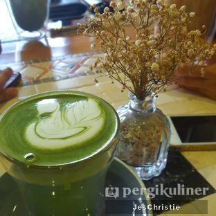 Foto 1 - Makanan(Hot Greentea Latte) di Native Coffee Tribe oleh JC Wen