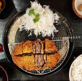 Foto Beef Black Pepper Katsu Set di Kimukatsu