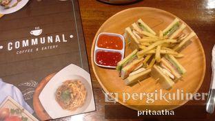 Foto 1 - Makanan(Club sandwich) di Communal Coffee & Eatery oleh Prita Hayuning Dias