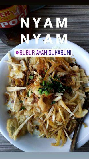 Foto review Bubur Ayam Sukabumi oleh @jajananelok  1