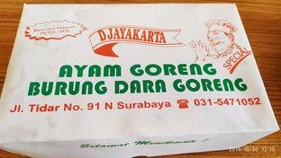 Foto 1 - Makanan di Djayakarta Ayam Goreng oleh Tia Oktavia