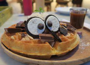 5 Waffle di Bandung yang Sudah Terbukti Enaknya
