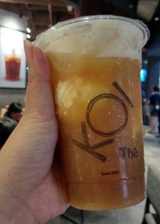 Foto 1 - Makanan(Ice Cream Black Tea) di KOI The oleh YSfoodspottings