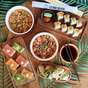 Foto 1 - Makanan di Genki Sushi oleh Chris Chan
